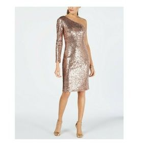 Nightway 10 Sequined Sheath Dress 8BD50